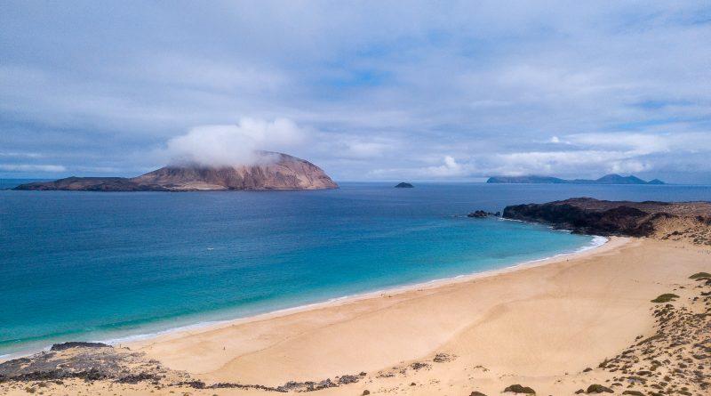 Playa de la Conchas, Ile de la Graciosa, le 24/06/2019. Photo : Frédéric de Laminne