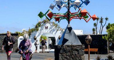 Visite de la Fondation Cesar Manrique située à Tahiche, Lanzarote.