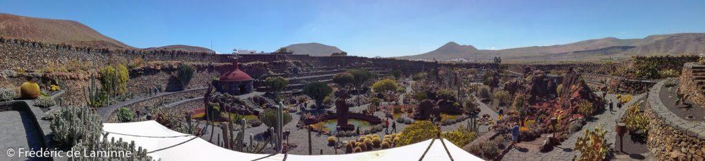 Vue Panoramique du Jardin de Cactus