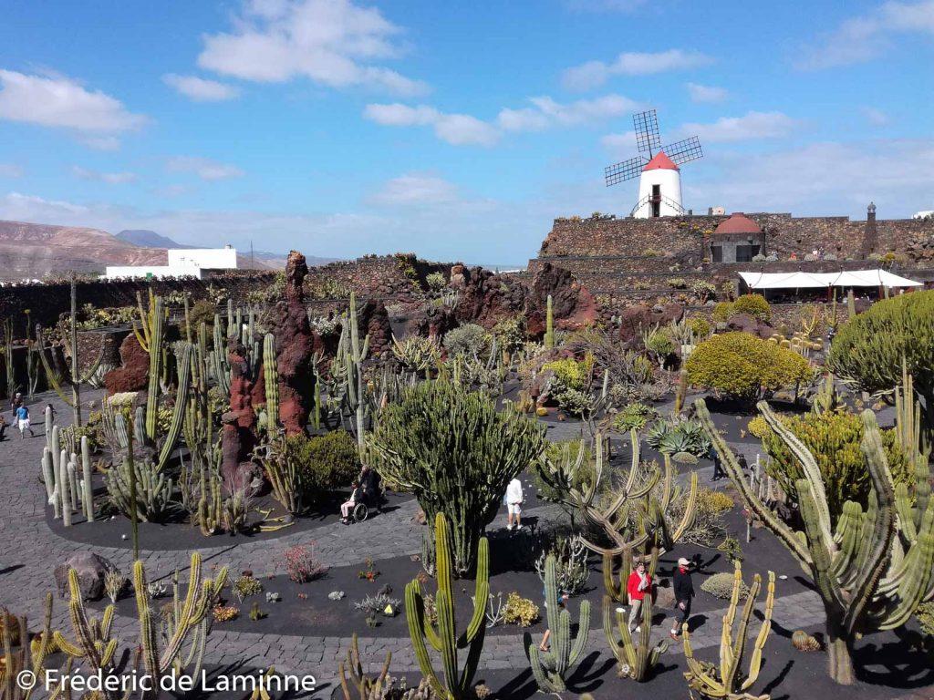 Le Jardin de Cactus à Guatiza, Lanzarote