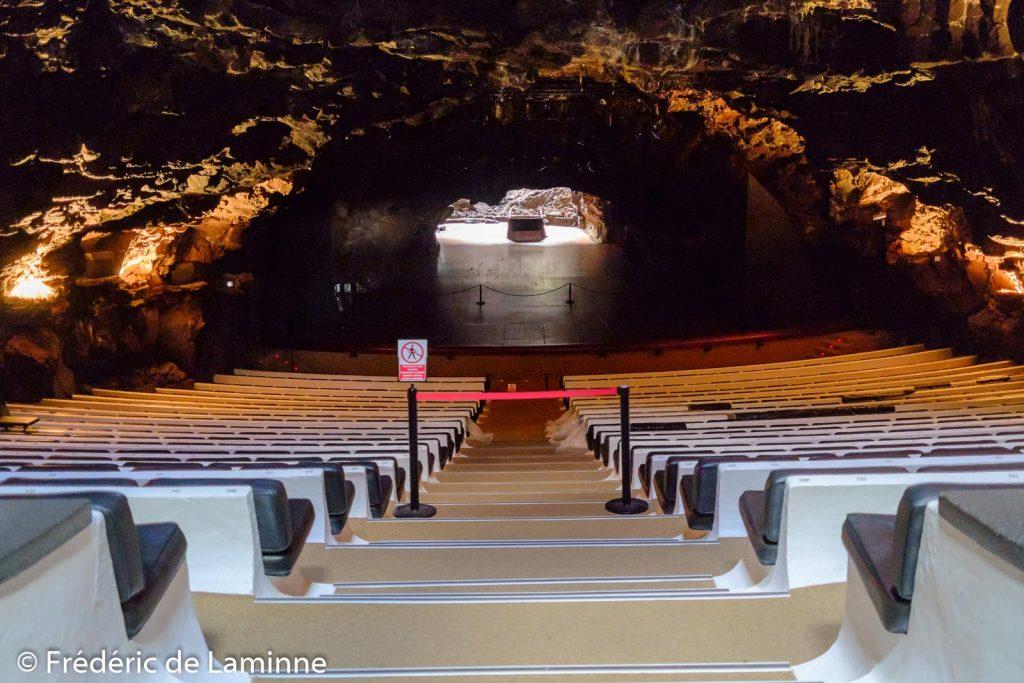 L'auditorium des Jameos del Agua
