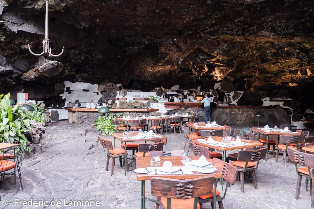 Restaurant Jameos del Agua, Lanzarote