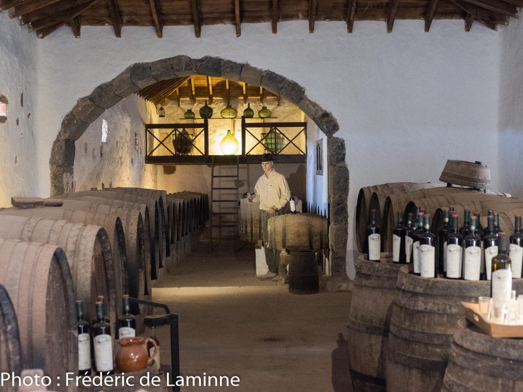 Chai au musée Agricole El Patio (Tiagua) sur l'île de Lanzarote, Canaries le 13/11/2019. Photo : Frédéric de Laminne