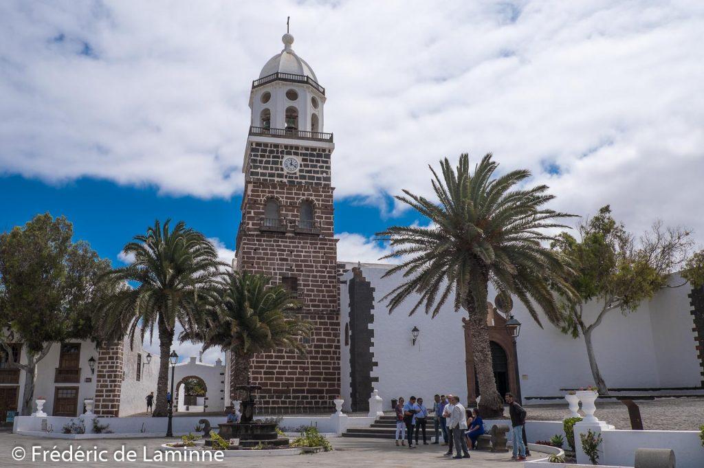 L'église Notre-Dame de Guadeloupe à Teguise, Lanzarote