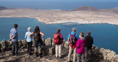 L'île de la Graciosa vue depuis le Mirador del Rio