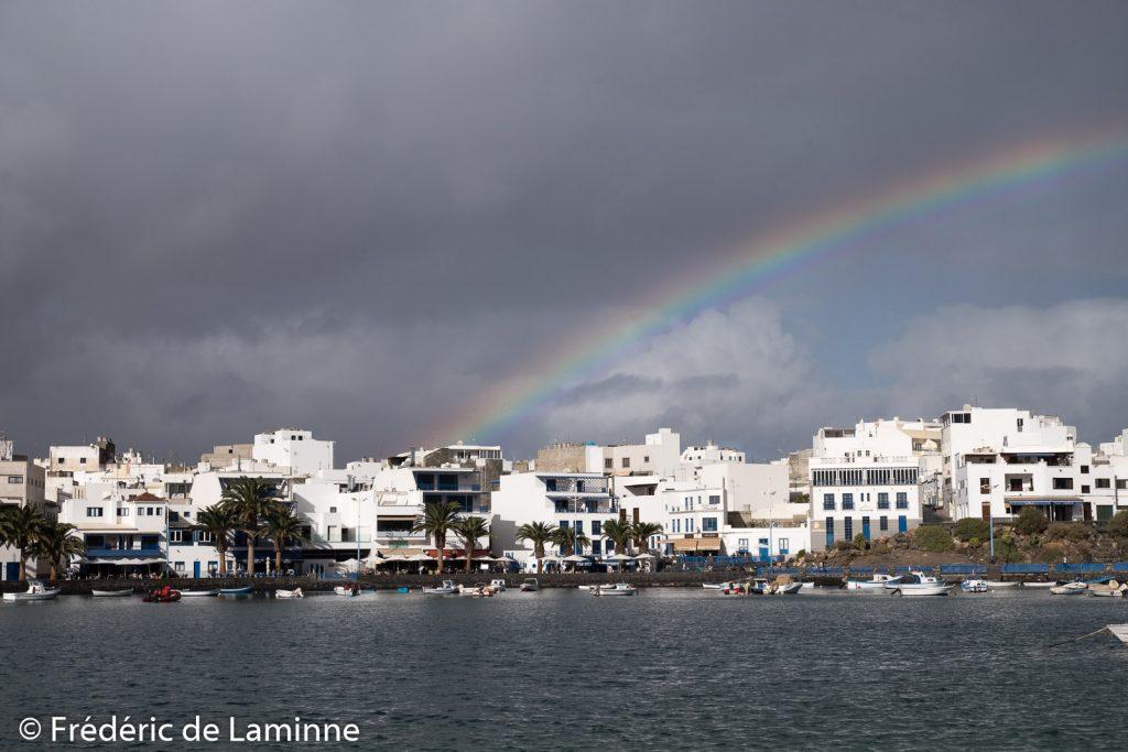 Charco de San Gines (Arrecife) sur l'île de Lanzarote, Canaries le 15/11/2019. Photo : Frédéric de Laminne