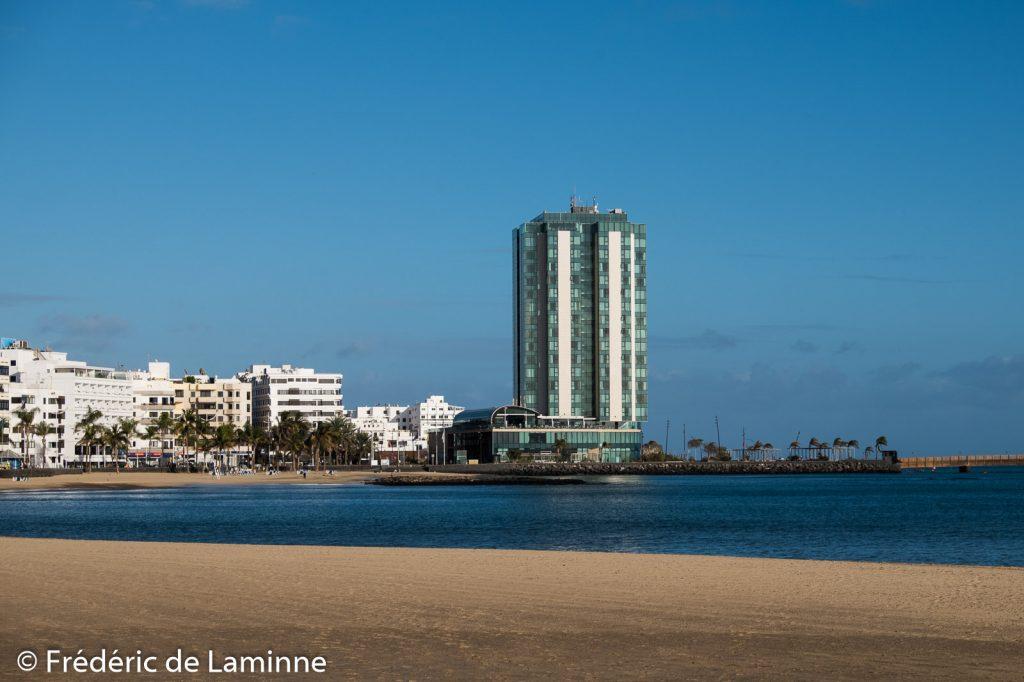 Gran Hotel (Arrecife) sur l'île de Lanzarote, Canaries le 15/11/2019. Photo : Frédéric de Laminne