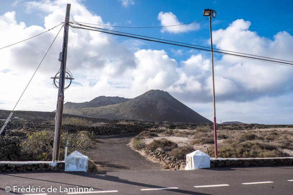 Le début du chemin pour rejoindre le Monte Corona