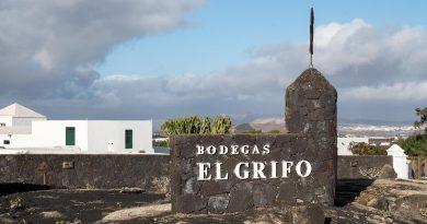 Le Musée du vin El Grifo se trouve à Masdache sur l'île de Lanzarote