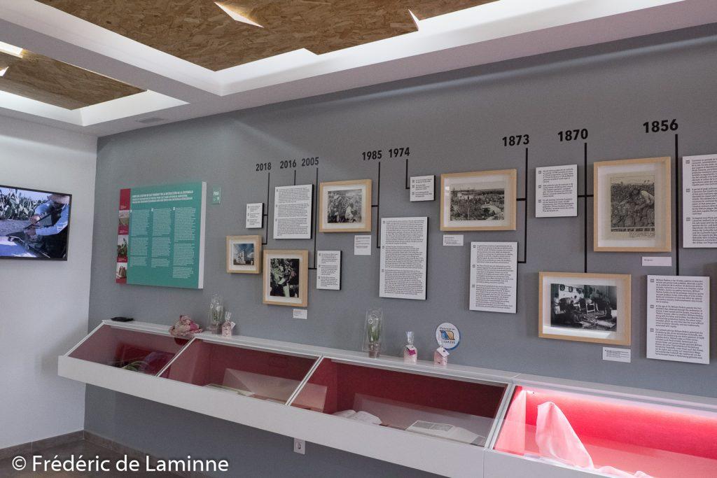 Centre d'interprétation de la Cochenille (Mala) sur l'île de Lanzarote, Canaries le 14/11/2019. Photo : Frédéric de Laminne
