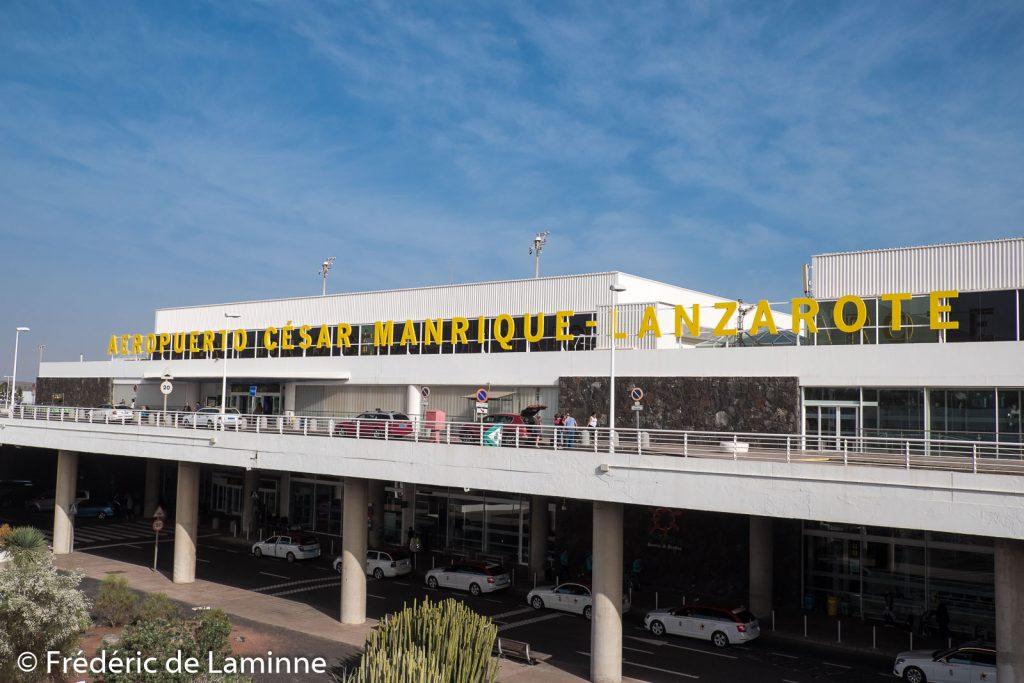 L'aéroport de Lanzarote porte le nom de César Manrique depuis 2019.