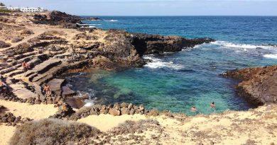 Charco del Palo, seul village naturiste des Canaries