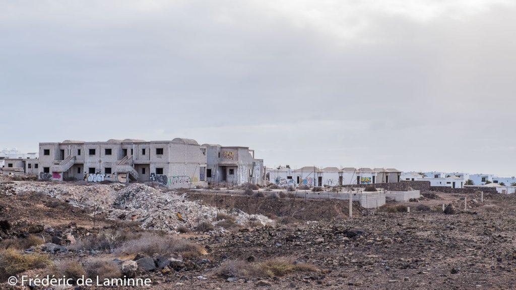 Projets de construction abandonnés à Costa Teguise