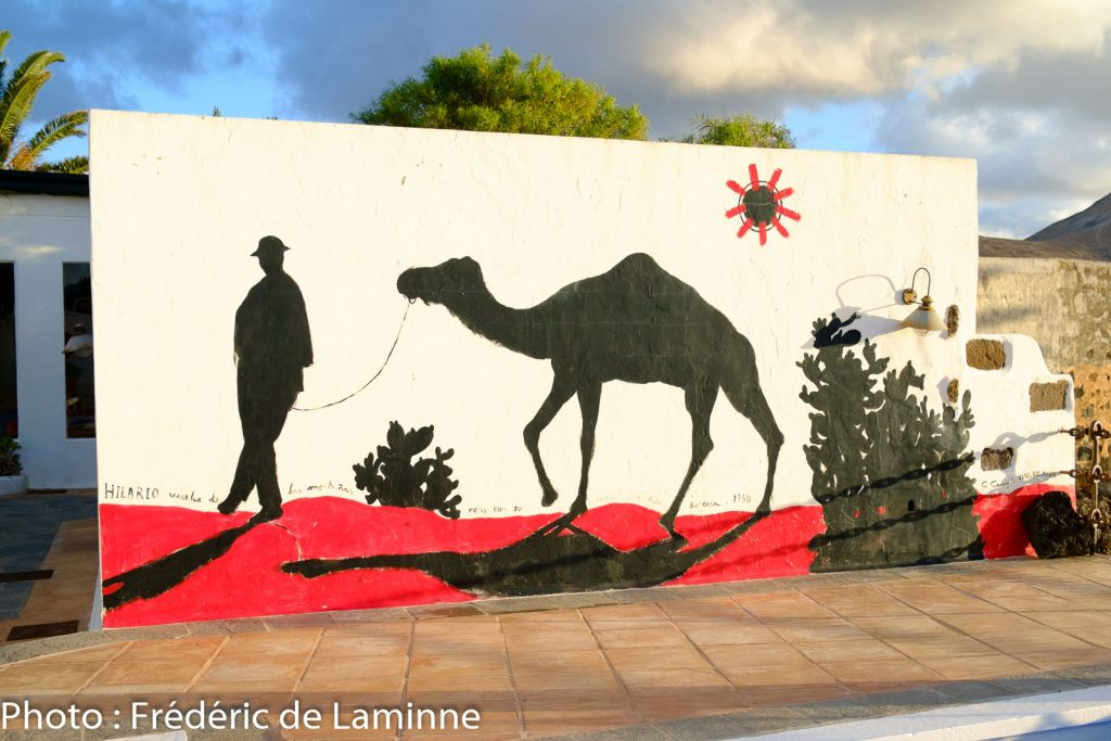 Fresque murale à la Casa de Hilario