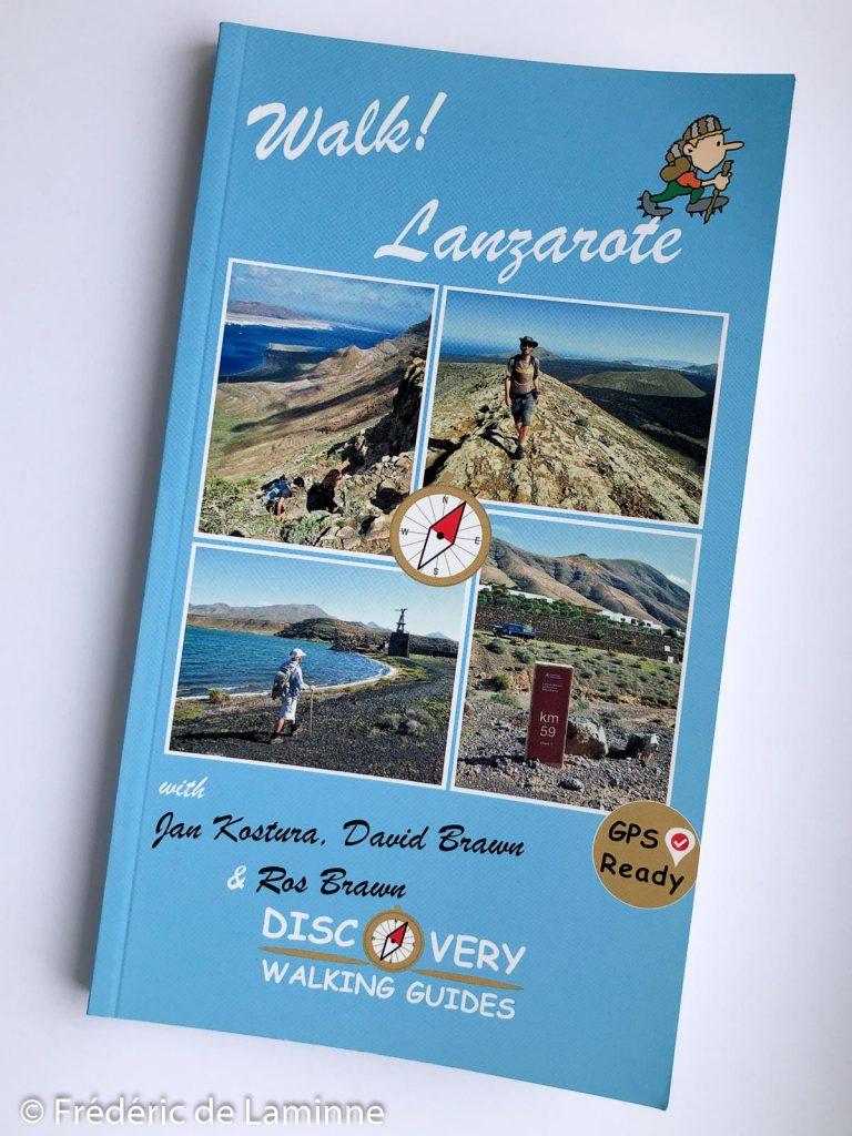 Couverture du guide de randonnée Walk Lanzarote