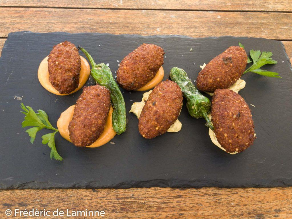 Boulettes de quinoa du restaurant El Sibarita (Famara)