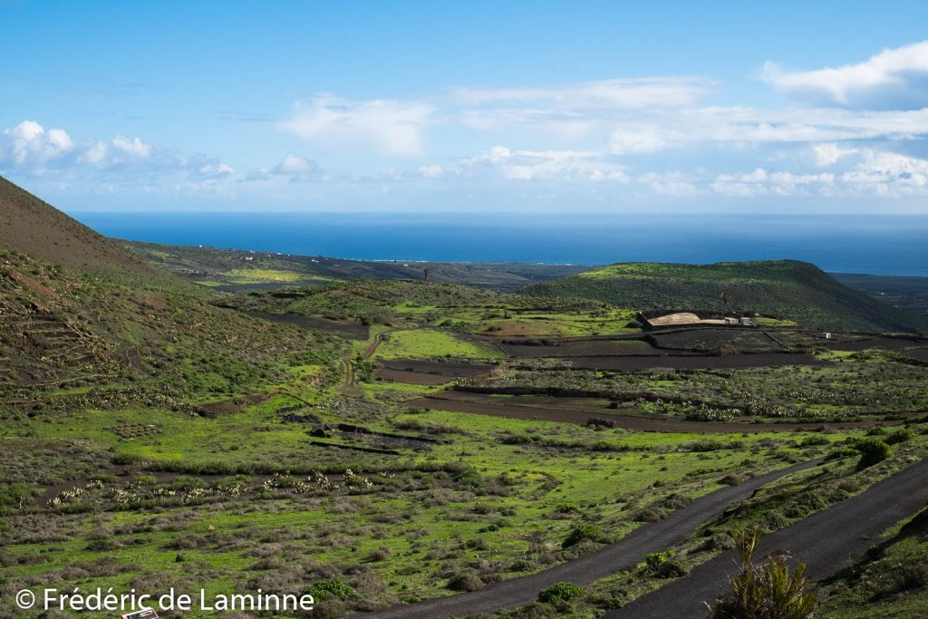 Dans les environs du Volcan La Caldera (Maguez), Lanzarote