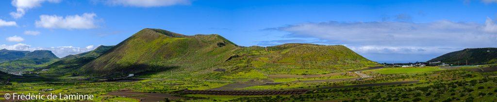 Los Helechos (Yé) sur l'île de Lanzarote