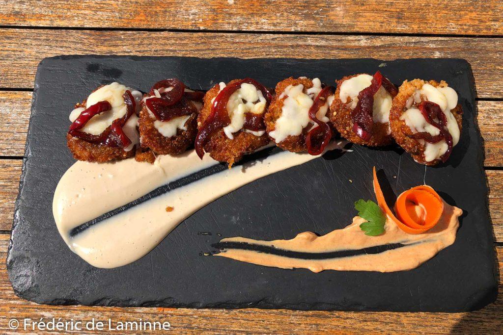 mini falafel du restaurant El Sibarita (Famara)